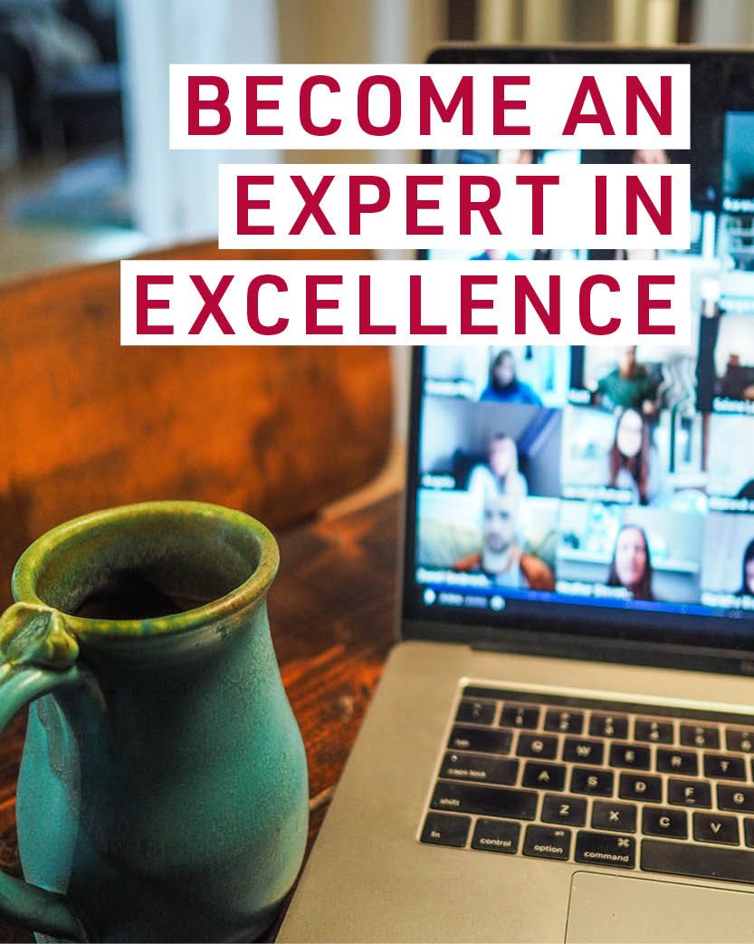 Become an expert in excellence