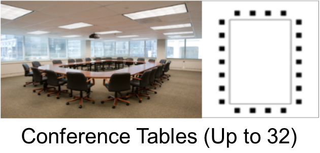 TUCC Conference Table Space (32 Seat)